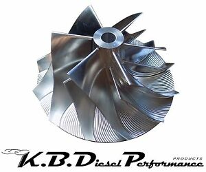 Details about Turbo Extended Tip Billet Compressor Wheel Chevy GMC 6 6l  Duramax LB7 63 5