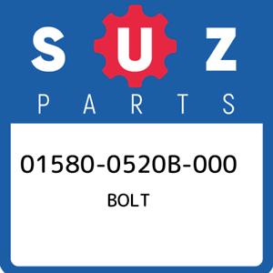 01580-0520B-000-Suzuki-Bolt-015800520B000-New-Genuine-OEM-Part