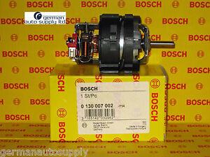 Porsche Ac Evaporator Fan Hvac Blower Motor Bosch