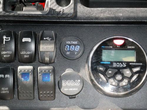 honda pioneer 1000 stereo mount 002
