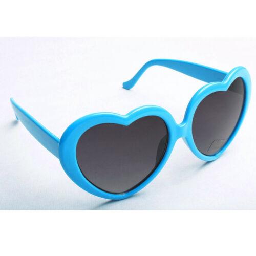 Kids Girls Children Heart Love Shape Sunglasses Full UV400 Protection Cat.3 Lens