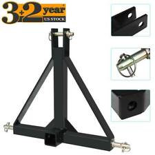 3 Point 2 Receiver Trailer Tow Hitch Steel 1 Category Tractor Drawbar Adapter