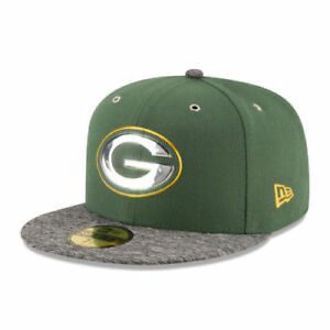 GREEN BAY PACKERS NFL KIDS ERA 59FIFTY OFFICIAL ON STAGE DRAFT DAY ... f3fbc68e26f8