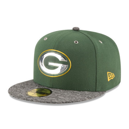 new arrival f26f7 c0293 GREEN BAY PACKERS NFL KIDS ERA 59FIFTY OFFICIAL ON STAGE DRAFT DAY FITTED  HAT