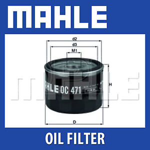 Mahle Oil Filter   Spin On OE Replacement OC727