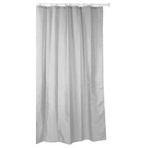 duschvorhange fur badewannen textil, textil duschvorhang grau 140x200 vorhang dusche waschbar badewanne, Innenarchitektur