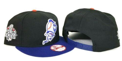 Mets 2000 World Series 9fifty Snapback Hat New Era Black Royal New York Mr