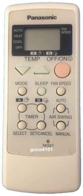 original panasonic air conditioner remote control a75c2317 replaces rh ebay com Panasonic Air Conditioner Parts panasonic split air conditioner remote control manual