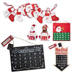 Calendario Conto Alla Rovescia.Dettagli Su Collant Babbo Natale Calendario Dell Avvento Di Natale Conto Alla Rovescia