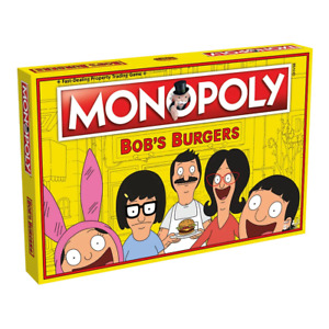 Monopoly Bobs Burgers Edition Board Game NEW