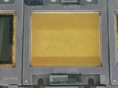 10X  GOLD PLATED sensor for machine vision   FOR SCRAP GOLD RECOVERY