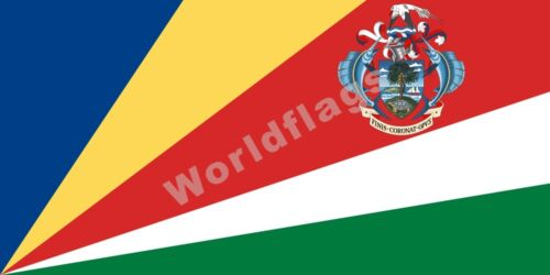 Seychelles Drapeau 3X5 3X6FT Historical National State Provinces Presidential