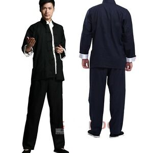 ce9b818ed Bruce Lee Chinese Kung Fu Wing Chun Suits Martial Arts Tai Chi ...