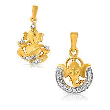 Mahi Combo of Scintillating Ganesh pendants CO1104328G