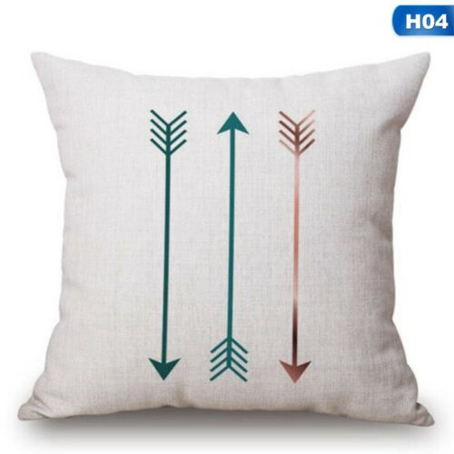 Nordic Blue Green Yellow Pillow Case Printed Sofa Cushion Cover Home Decor Cover