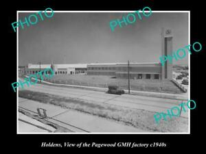 OLD-POSTCARD-SIZE-PHOTO-OF-OF-HOLDEN-GMH-PAGEWOOD-FACTORY-SYDNEY-NSW-c1940s