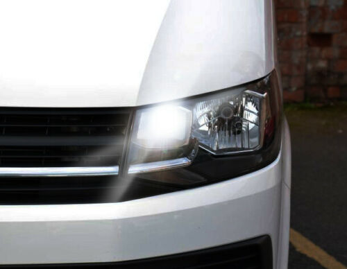 VW TRANSPORTER T5 T6 LED XENON WHITE DRL DAYTIME RUNNING LIGHT BULBS NO ERRORS