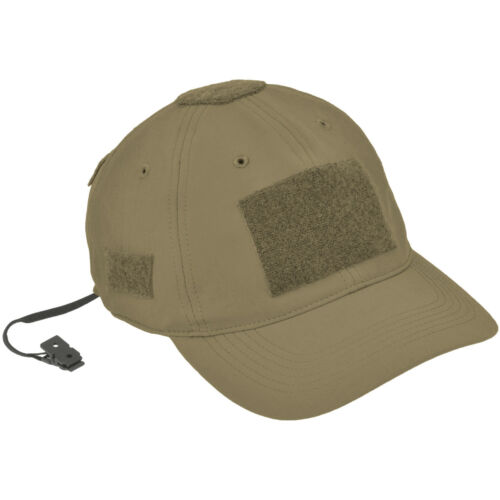 Hazard 4 PMC SS Softshell Breathable Contractor Ball Cap Army Patrol Hat Coyote