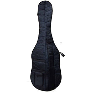 3/4 Upright Double Bass Bag oxford Cloth String Bass Bag Thick Padding New
