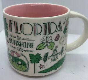 Starbucks Been There Series Collection 2017 Florida 14 Oz Ceramic Cup Mug