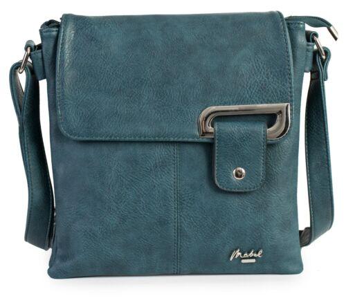 Womens Messenger Cross Body Multiple Pockets Shoulder Handbag Purse Bag Faith