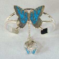 BUTTERFLY SLAVE BRACELET #64 jewelry chain new RING NEW silver women set ladies