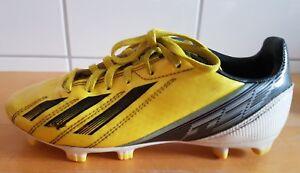 outlet on sale retail prices buy sale Details zu Adidas F50 ADIZERO TRX FG J gelb schwarz weiß Nocken  Fußballschuhe Junior US 4