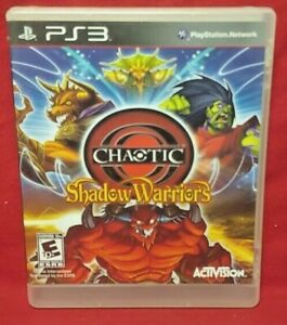 Chaotic-Shadow-Warriors-Sony-PlayStation-3-PS3-Game-Tested-Works