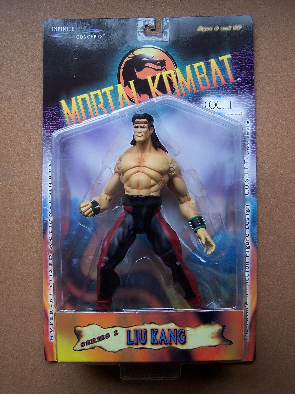 Mortal Kombat LIU KANG Infinite Concepts 2000 8.5