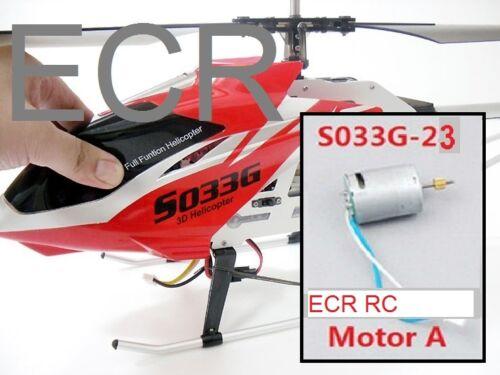Un nouveau moteur pour SYMA S033G S033 RC hélicoptère Pièces de Rechange Parties