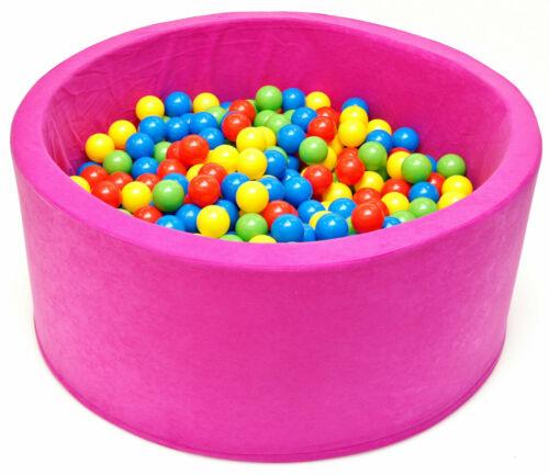 Pro Cosmo Baby Kids Kinder PLAY BALL SOFT PIT POOL mit bis zu 400 Bällen...