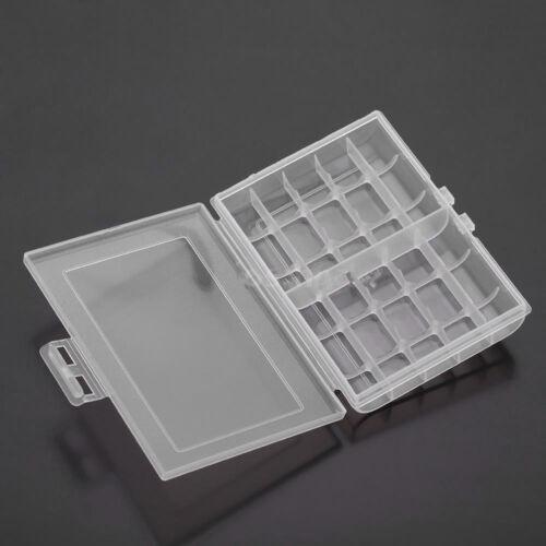 AAA-B CL Nützliches 1x Batteriefach aus Hartplastik Aufbewahrungsbox für 10 AA