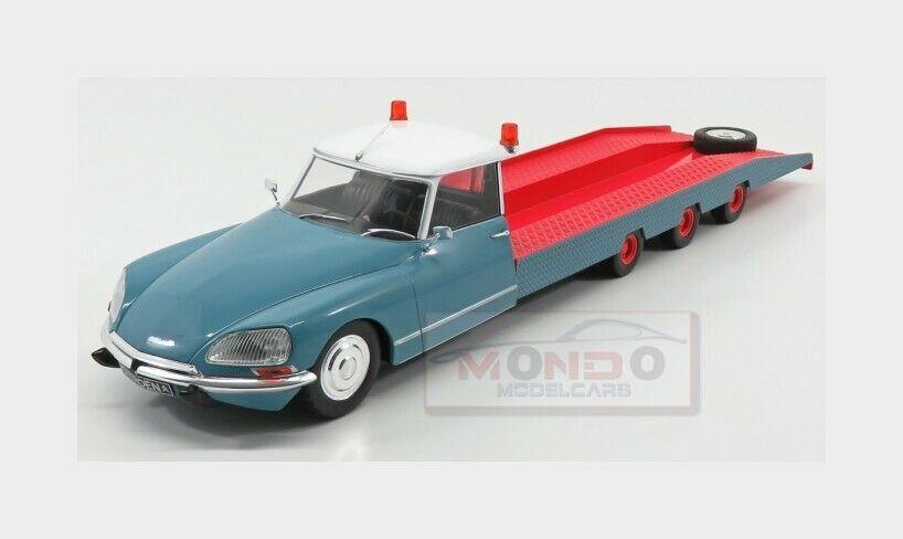 Citroen Ds Tissier auto Transporter Truck 1970 blu rosso bianca CMR 1 18 CMR138