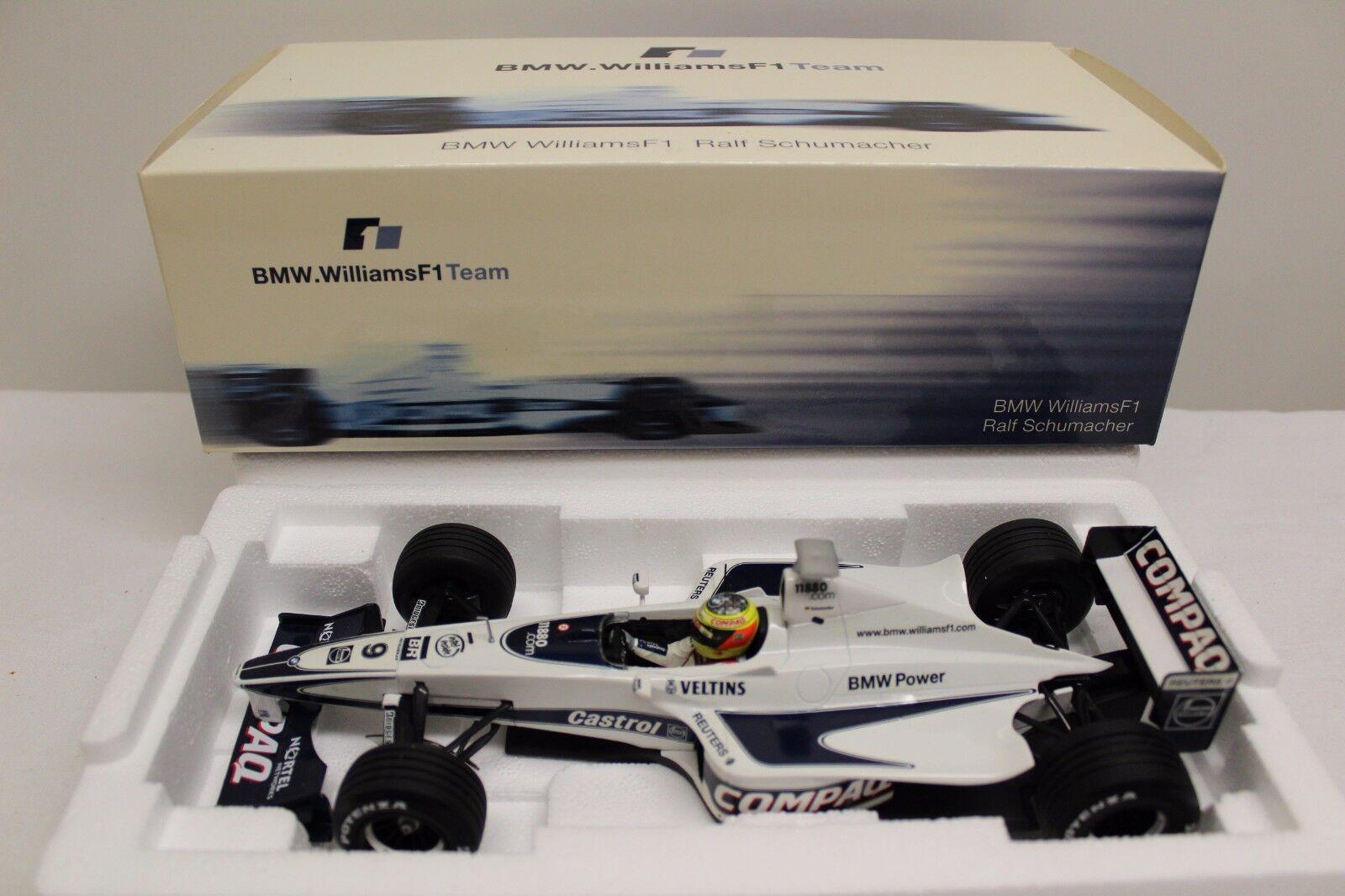 Minichamps 1 18 BMW Williams f1 fw21 Ralf Schumacher FW 21 Launch Version NEUF