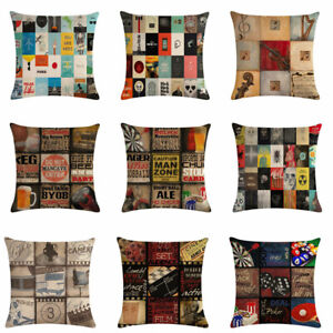 Retro-Recreation-Cotton-Linen-Pillow-Case-Waist-Throw-Cushion-Cover-Home-Decor