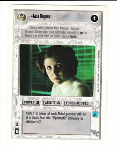 "Star Wars CCG Card /""Boba Fett/"" White Border"