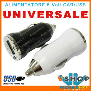 ALIMENTATORE-CAR-12V-5V-USB-CARICATORE-PER-iPhone-4-amp-4S-3GS-3G-iPod-Touch-iPAD