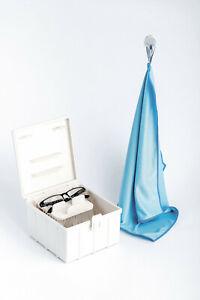 BRILLOX-Brillenreinigungsgeraet-mit-Buersten-Brillenreiniger-Brillenbad