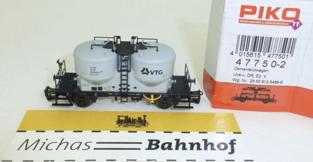 KVG Zementsilowagen Uns-v DR Ep5 PIKO 47751-2 TT 1:120 NEU #HK2 å