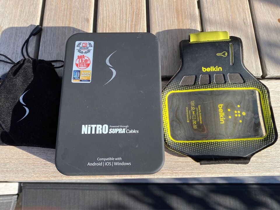 Headset, Nitro Supra cables , God