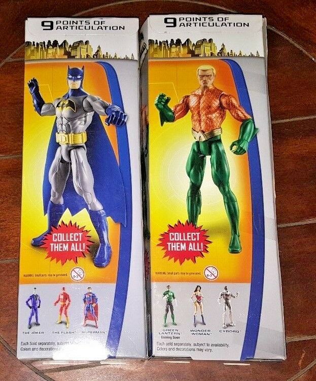 Batman Unlimited 12  Action Poseable Action  Figures  AQUAMAN + Blau grau BATMAN 4a0dd1