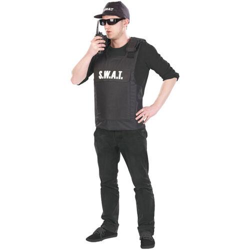 "2-teilig Einheitsgröße Overall-Kostüm Faschings-Kostüm /""S.W.A.T./"""