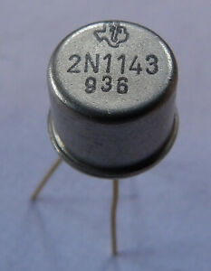 2N1143 TRANSISTOR GERMANIUM PNP - TEXAS - N.O.S. x1