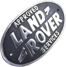 Land Rover Services Aluminium Sign Plaque