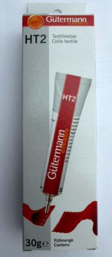 5 tubes Gütermann ht2 textile colle 30g généralistes Colle pour ménage et Hobby