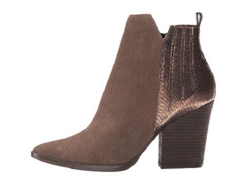 NIB Guess Millie Leather Ankle Stiefelie in braun braun braun da5464