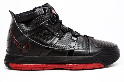 312147 9 Sz Zoom 2006 Lebron Bred 004 Og James Negro Iii Red 3 Crimson Nike qO4FwB