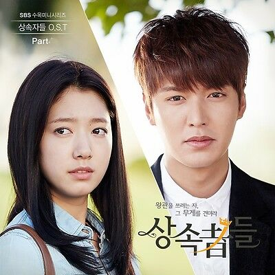 Rare album THE HEIRS OST PART.1 Moment, Lee HongKi, VIXX Ken SBS Korean Drama