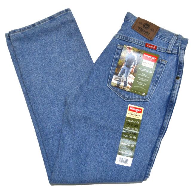 7804e78a Wrangler Jeans Mens Size 38 X 32 Light Stonewash Regular Fit #1329 ...