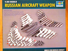 Trumpeter 1:32 Russian Aircraft Weapons Model Kit